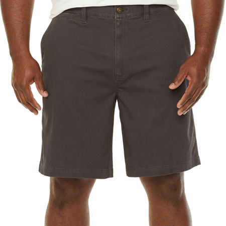The Foundry Big & Tall Supply Co. Mens Chino Short-Big and Tall, 42 , Black