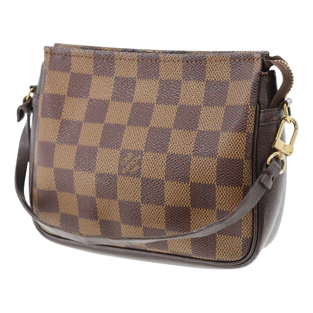 Louis Vuitton Pochette Accessoire Brown Cloth Clutch bag for Women \N
