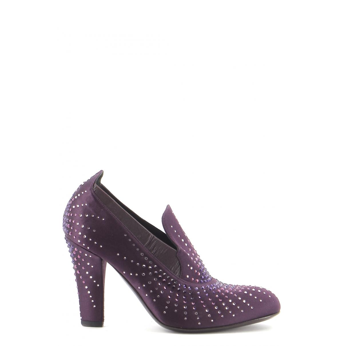 Fratelli Rossetti - Bottes   pour femme en suede - violet