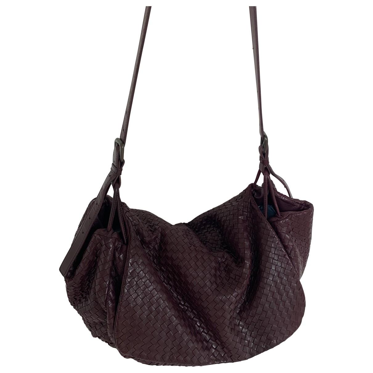 Bottega Veneta \N Burgundy Leather handbag for Women \N