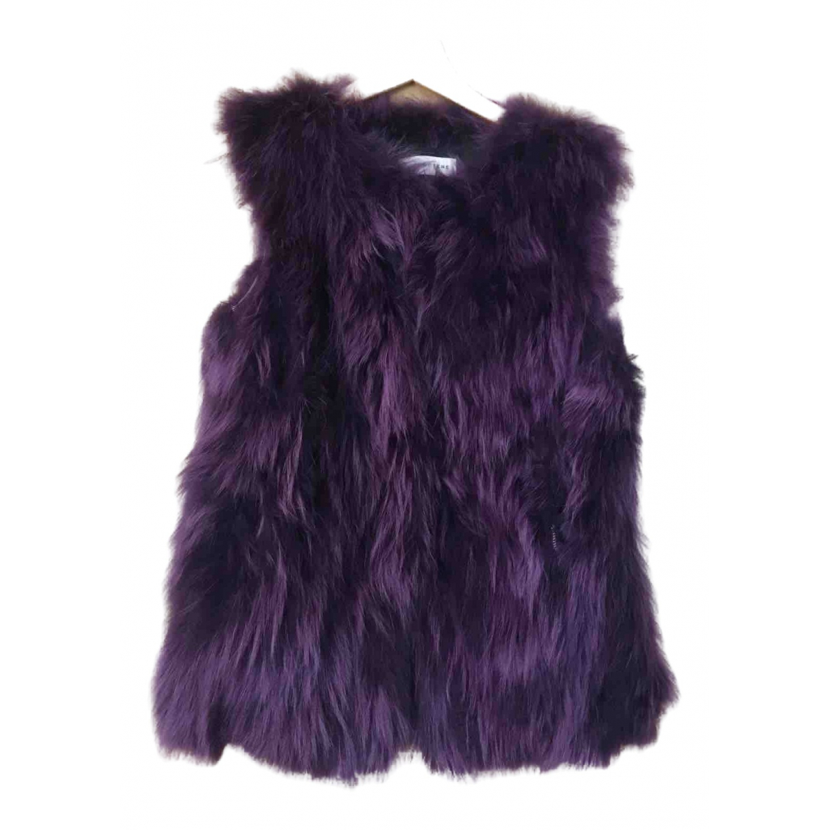 Non Signé / Unsigned \N Purple Raccoon jacket for Women 40 IT