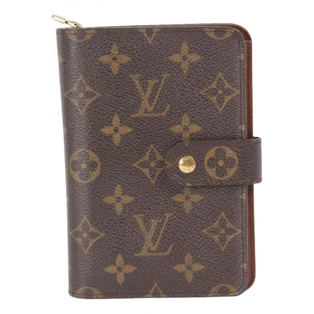 Cartera de Lona Louis Vuitton