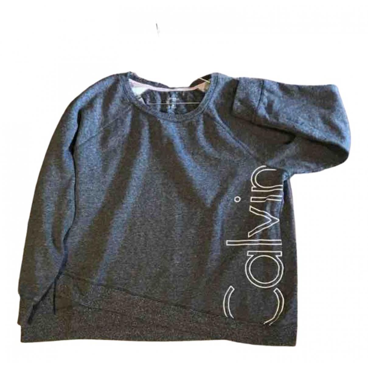 Calvin Klein \N Pullover in  Grau Baumwolle