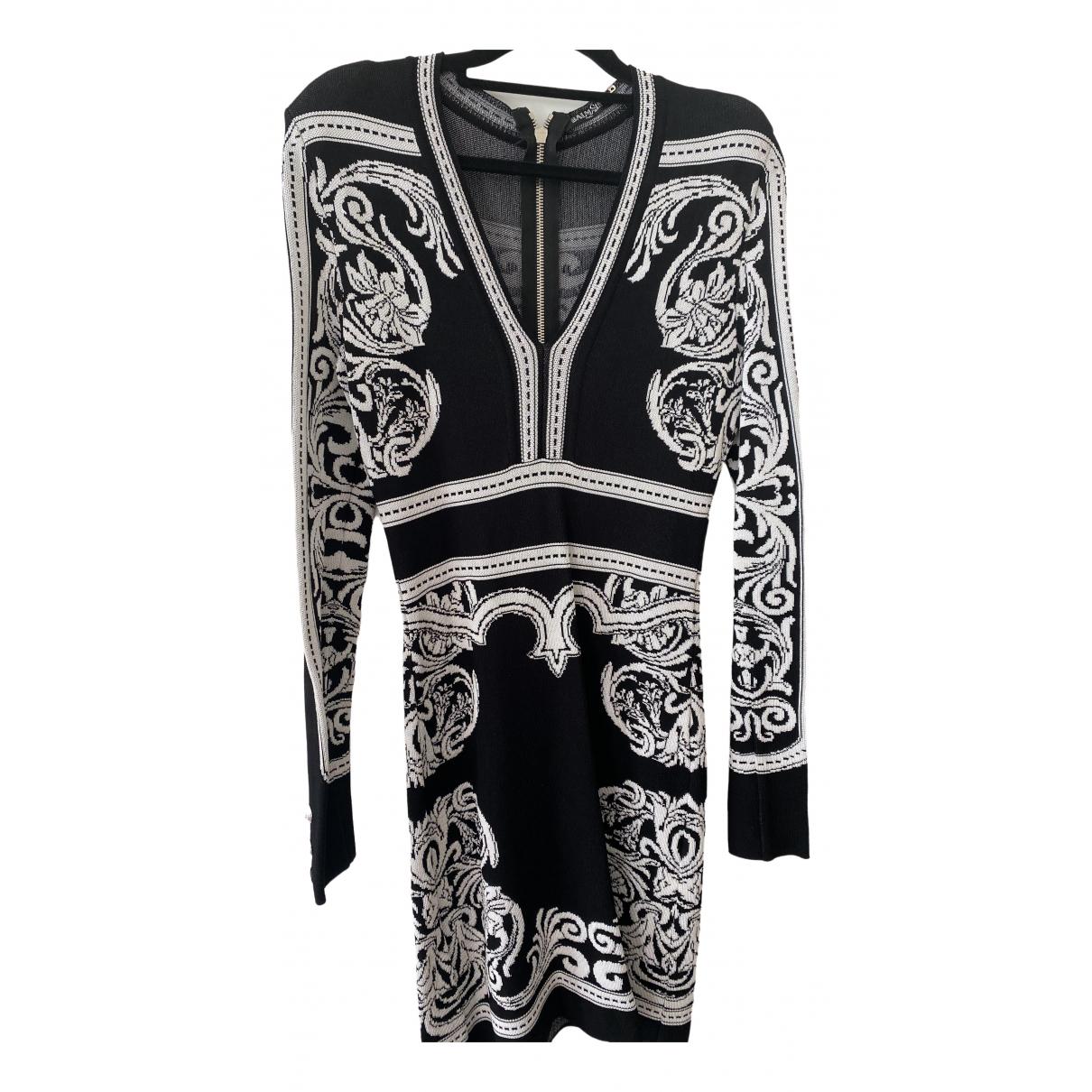 Balmain \N Black dress for Women 38 FR