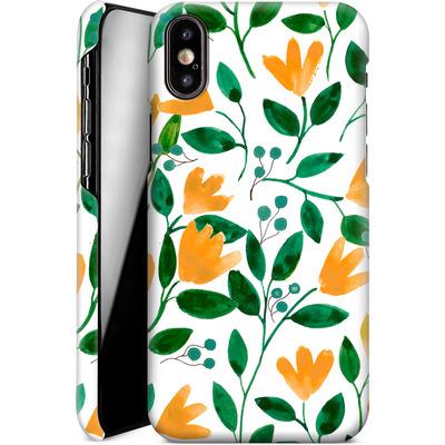 Apple iPhone X Smartphone Huelle - Fresh Foliage  von Iisa Monttinen