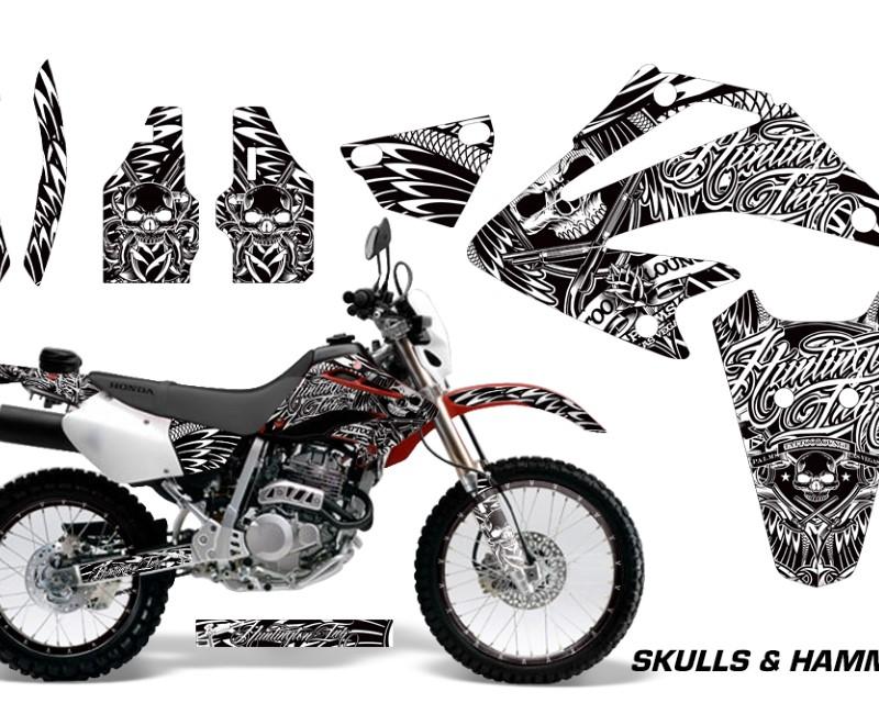 AMR Racing Dirt Bike Graphics Kit Decal Sticker Wrap For Honda XR250SM 2003-2005áHISH WHITE