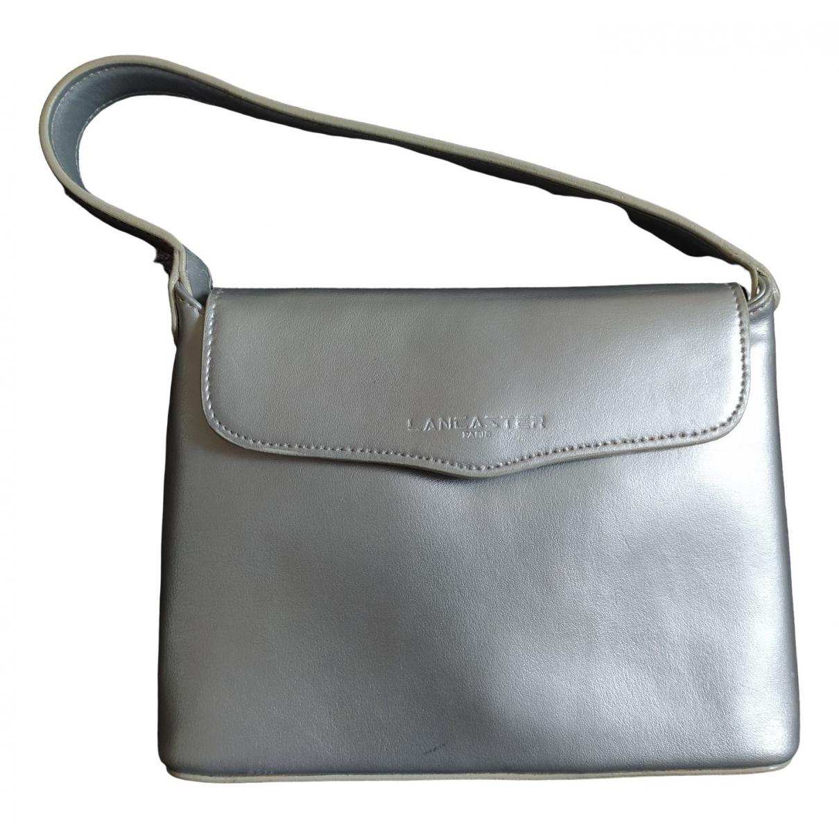 Lancaster \N Handtasche in  Silber Leder