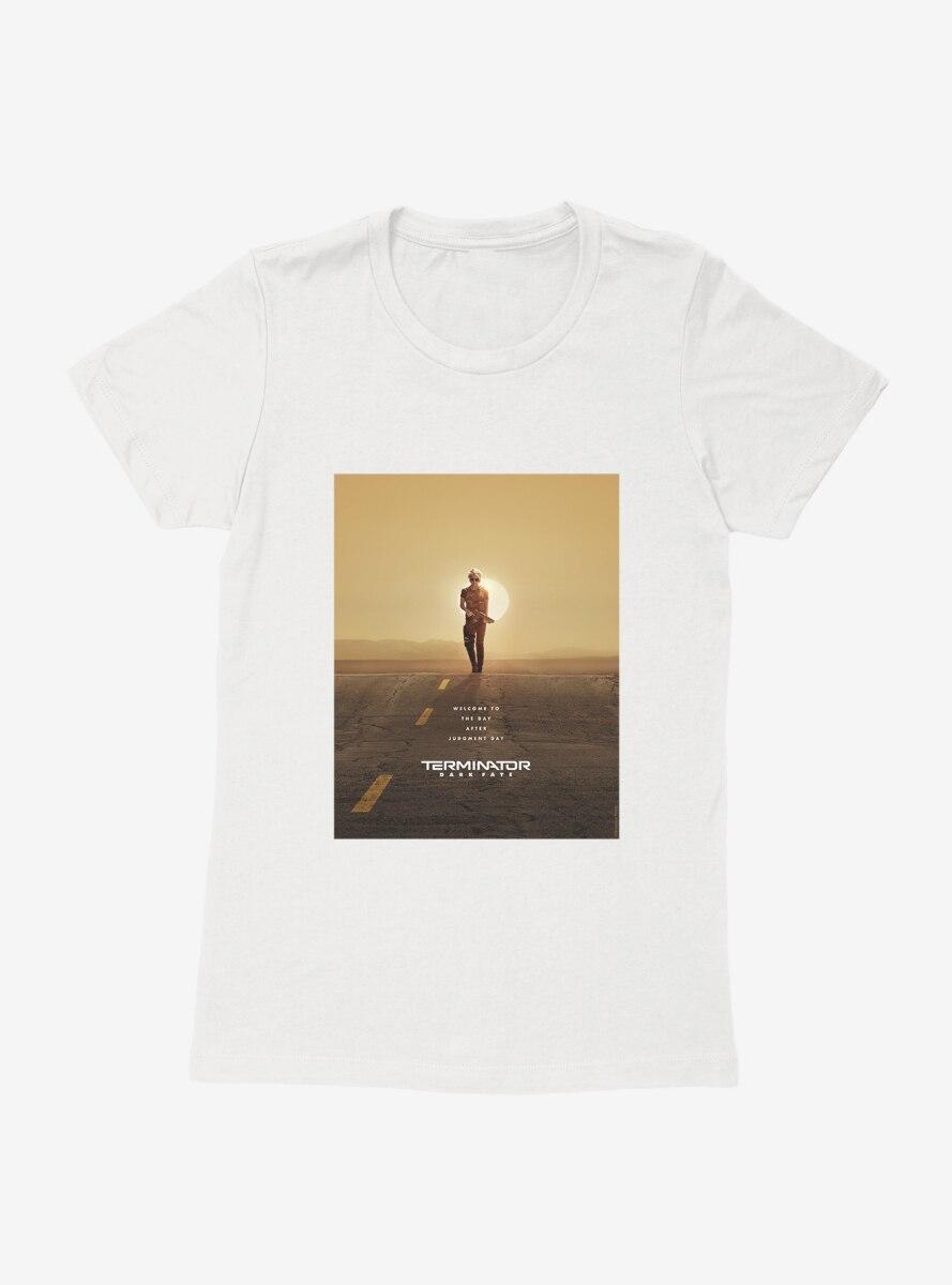 Terminator: Dark Fate Movie Poster Womens T-Shirt
