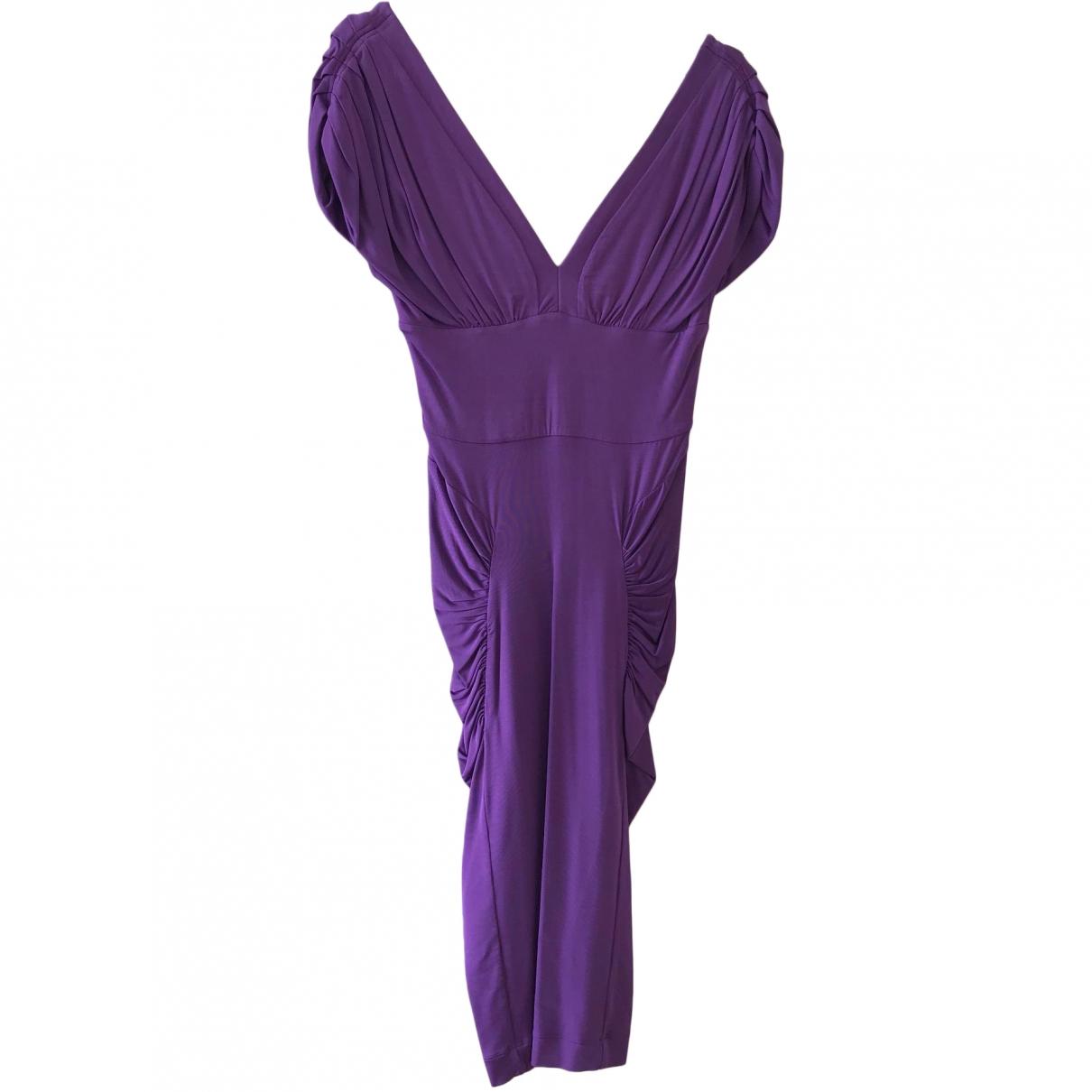 Just Cavalli \N Purple dress for Women 40 IT