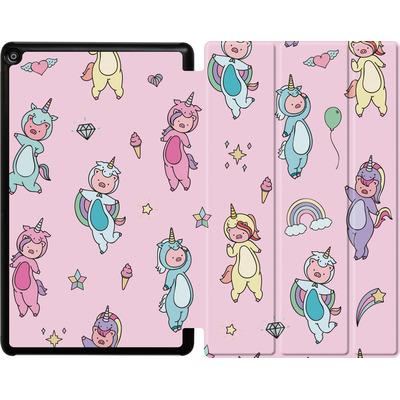 Amazon Fire HD 10 (2017) Tablet Smart Case - Piggy Unicorns von Chan-chan