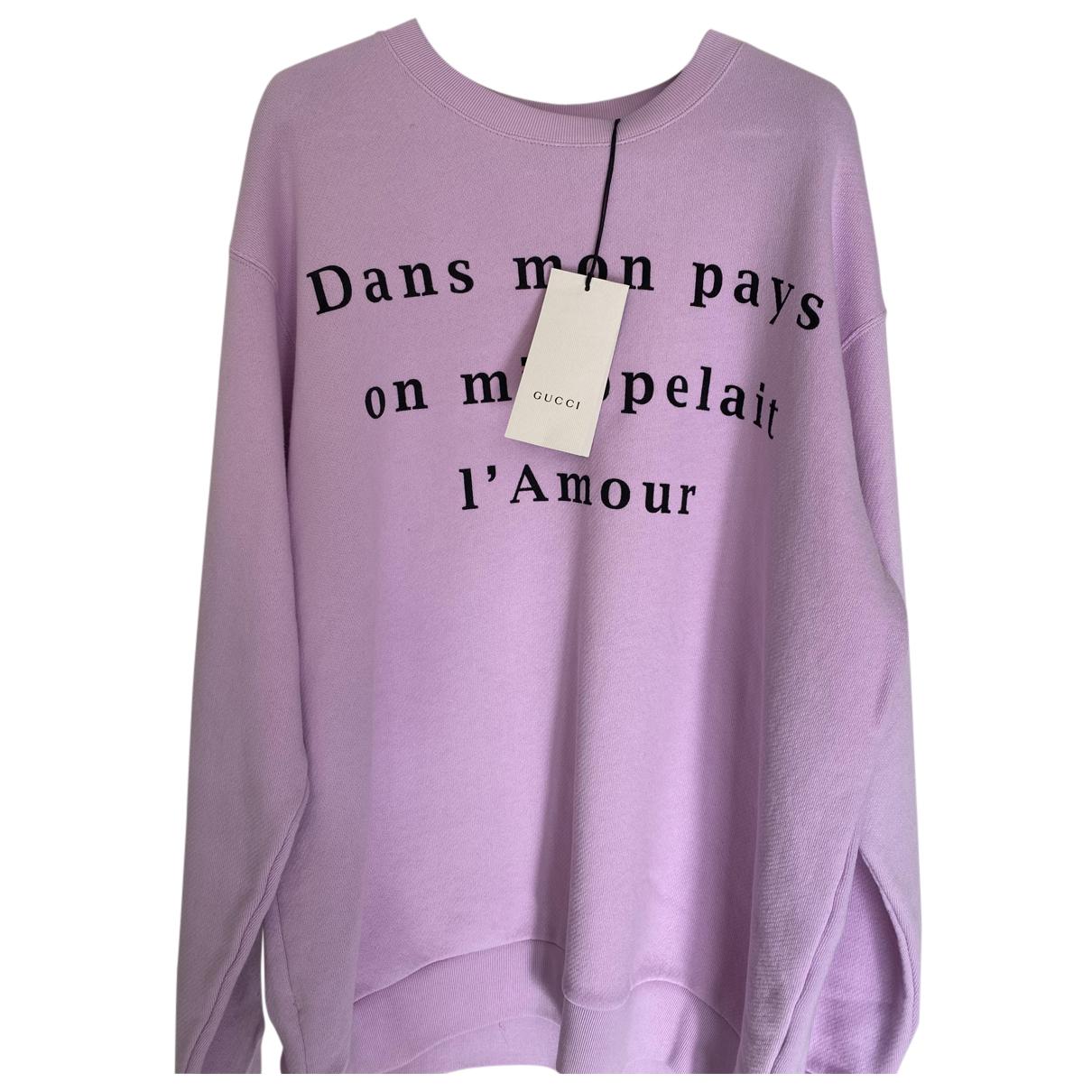 Gucci - Pull   pour femme en coton