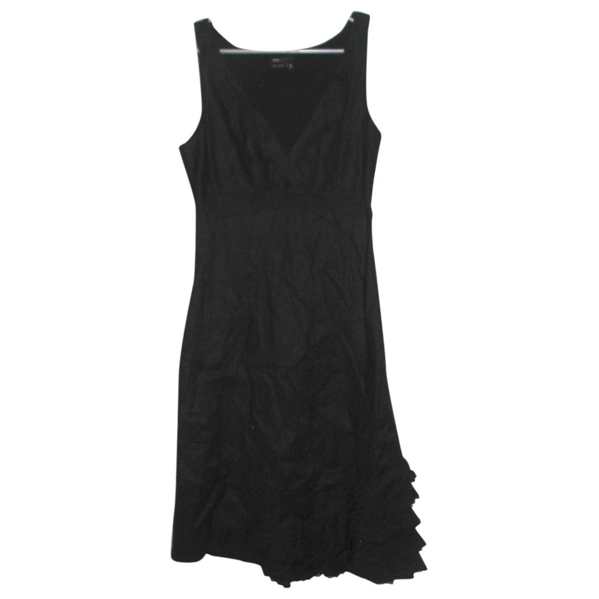 Bcbg Max Azria - Robe   pour femme en lin - noir