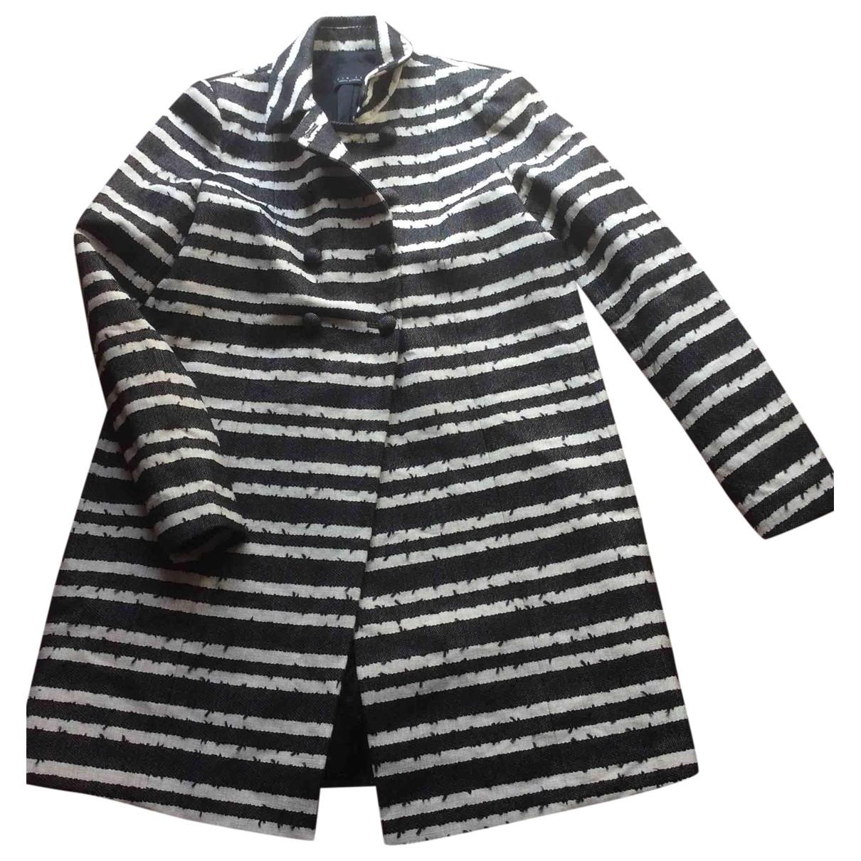 Twin Set - Manteau   pour femme en coton