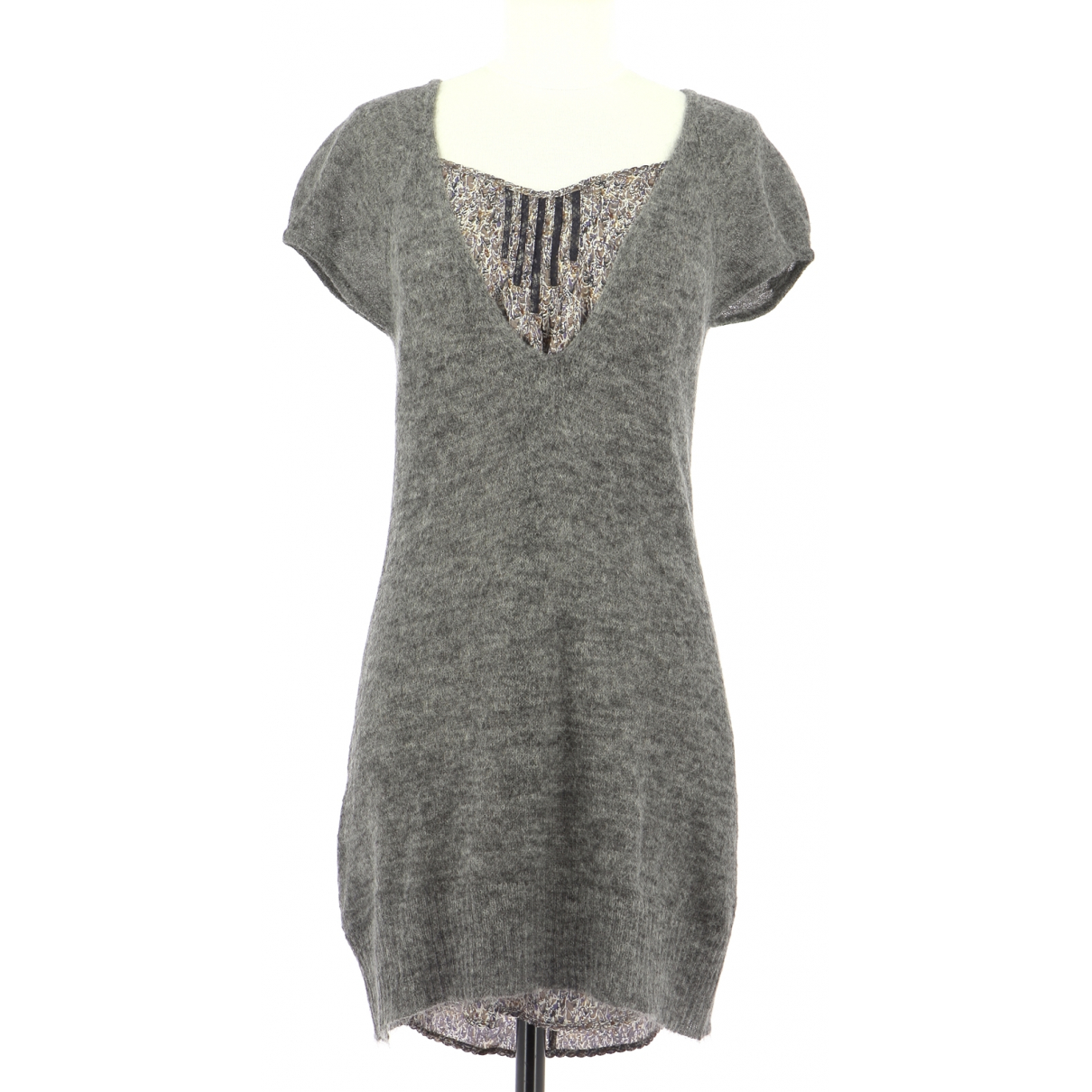 Comptoir Des Cotonniers \N Grey dress for Women 38 FR