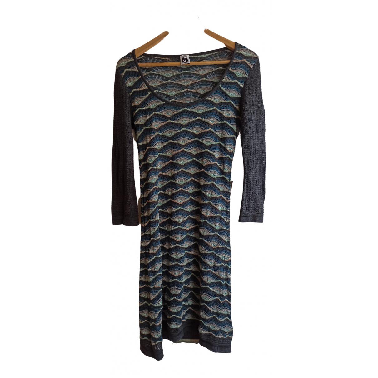 M Missoni \N Green Cotton - elasthane dress for Women 42 IT