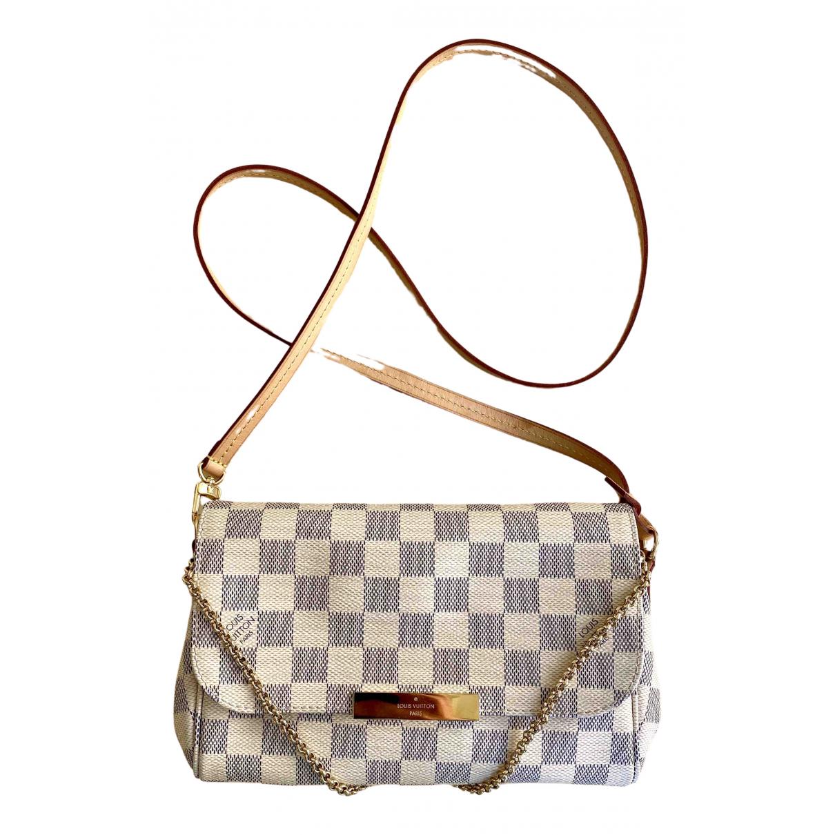 Louis Vuitton Favorite Ecru Cloth handbag for Women \N