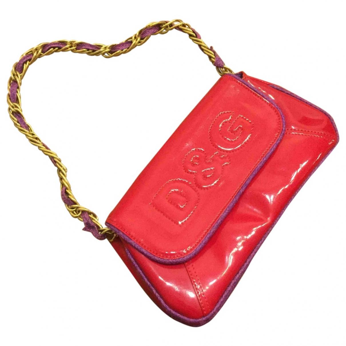 D&g \N Handtasche in  Rot Kunststoff