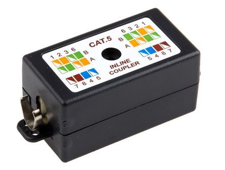 RS PRO Cat5 Punch Down Wiring Box, 2 Port, STP