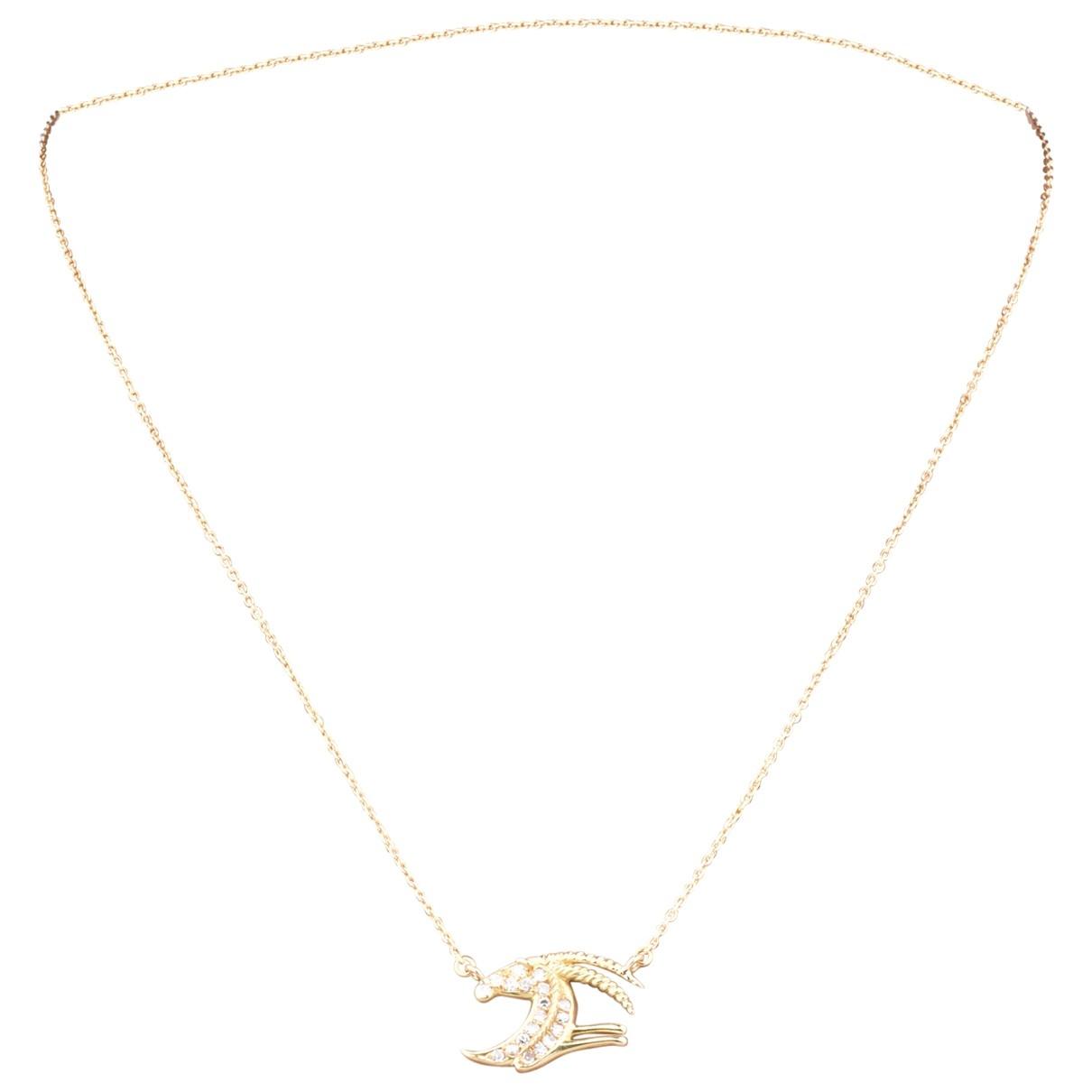 - Collier Motifs Animaliers pour femme en or jaune - jaune