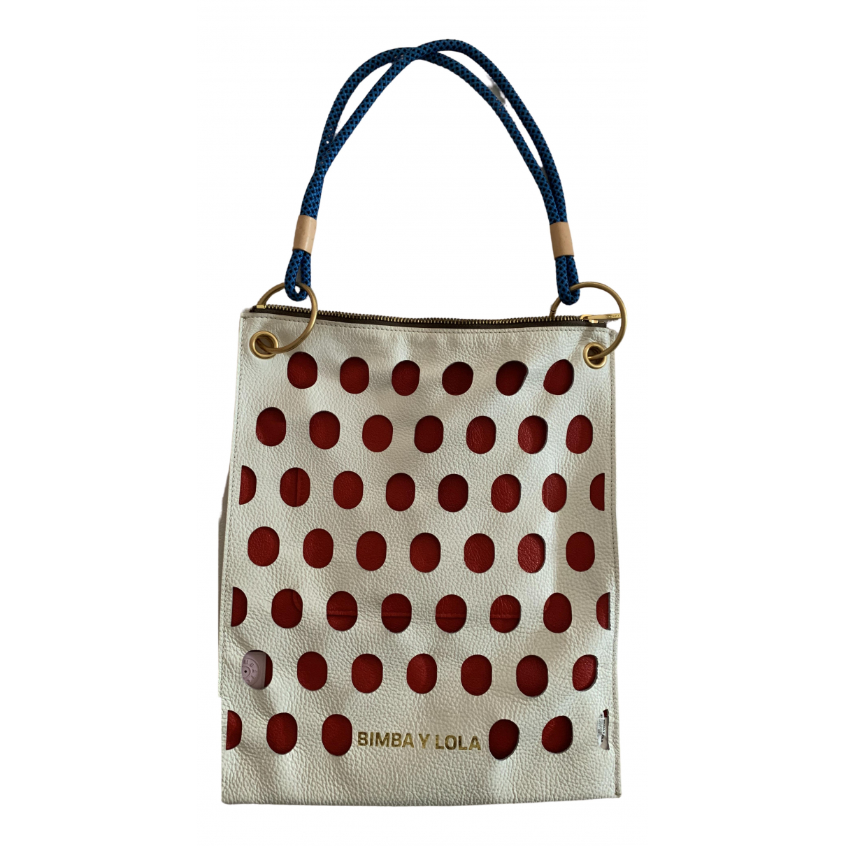 Bimba Y Lola \N Handtasche in  Weiss Leder