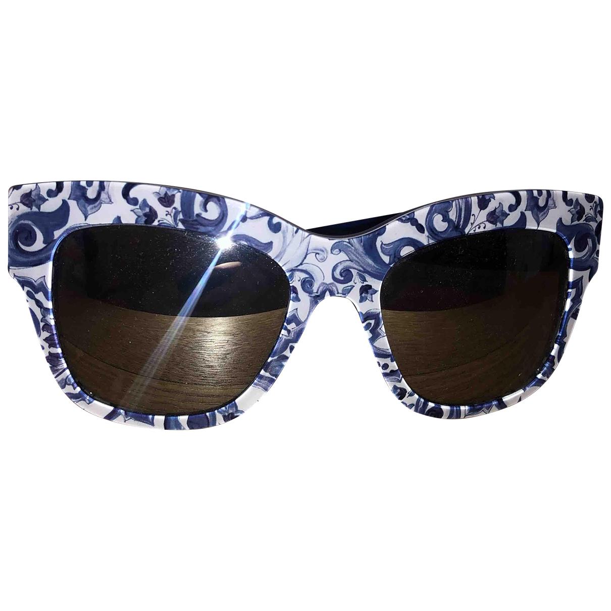 Dolce & Gabbana \N Blue Sunglasses for Women \N