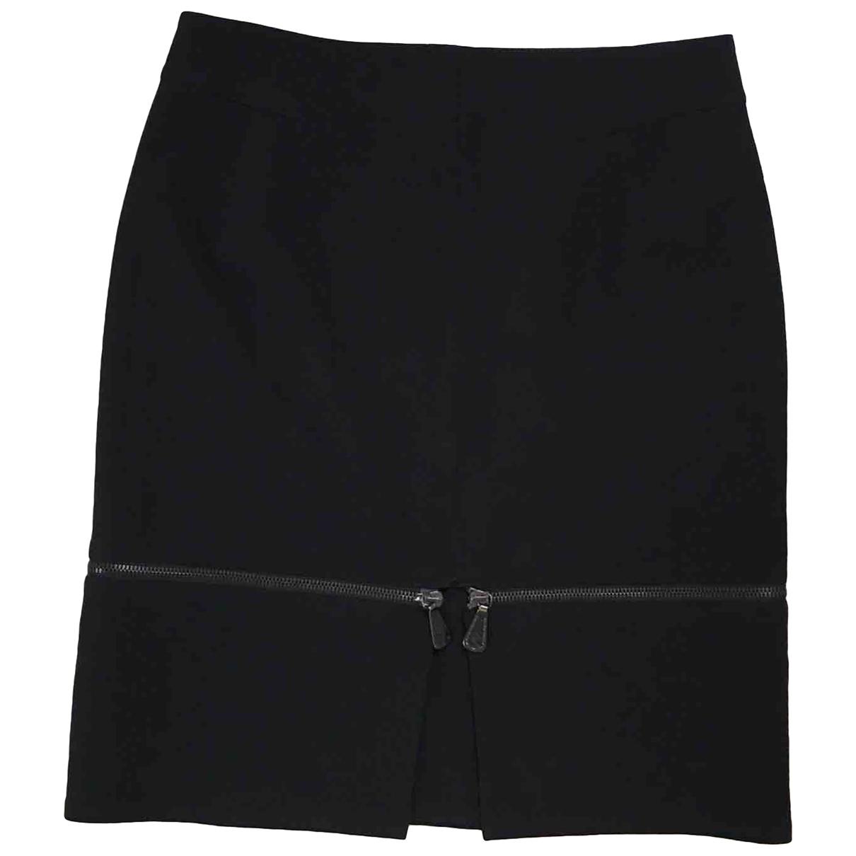 Mcq - Jupe   pour femme en laine - noir