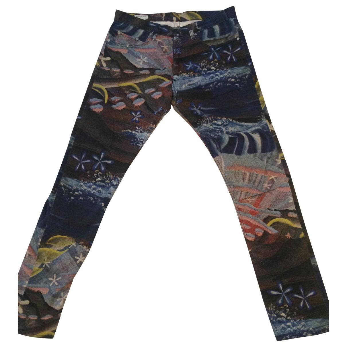 Dries Van Noten \N Multicolour Cotton Jeans for Men 32 US