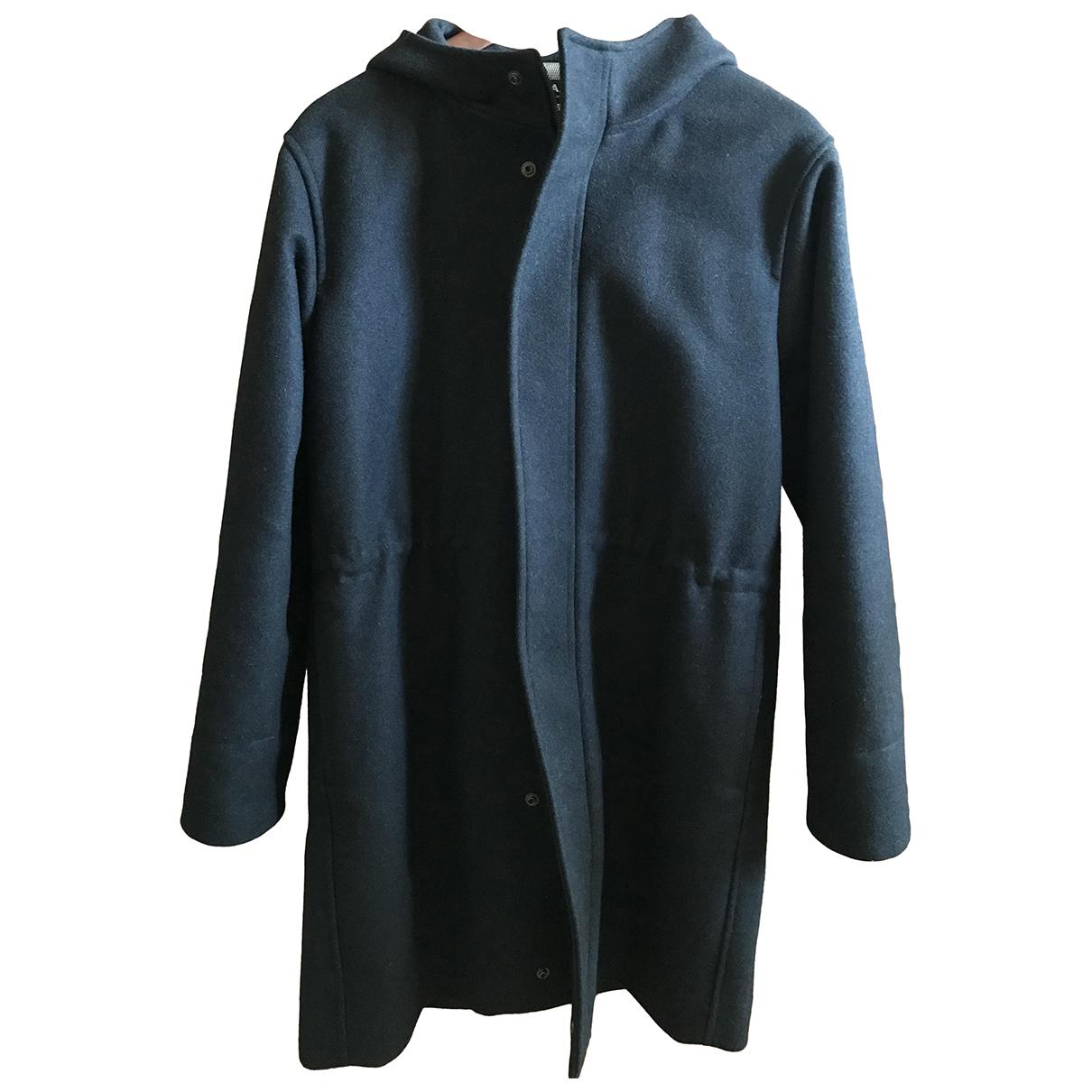 Apc N Anthracite Wool coat for Women XS International