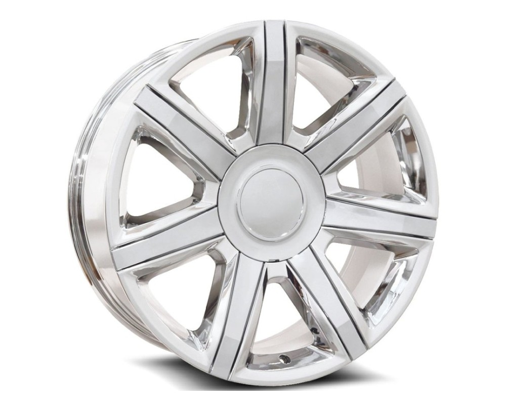 OE Revolution D05-2290655+31C D-05 Wheel 22x9 6x139.7 31mm Chrome w/ Chrome Insert