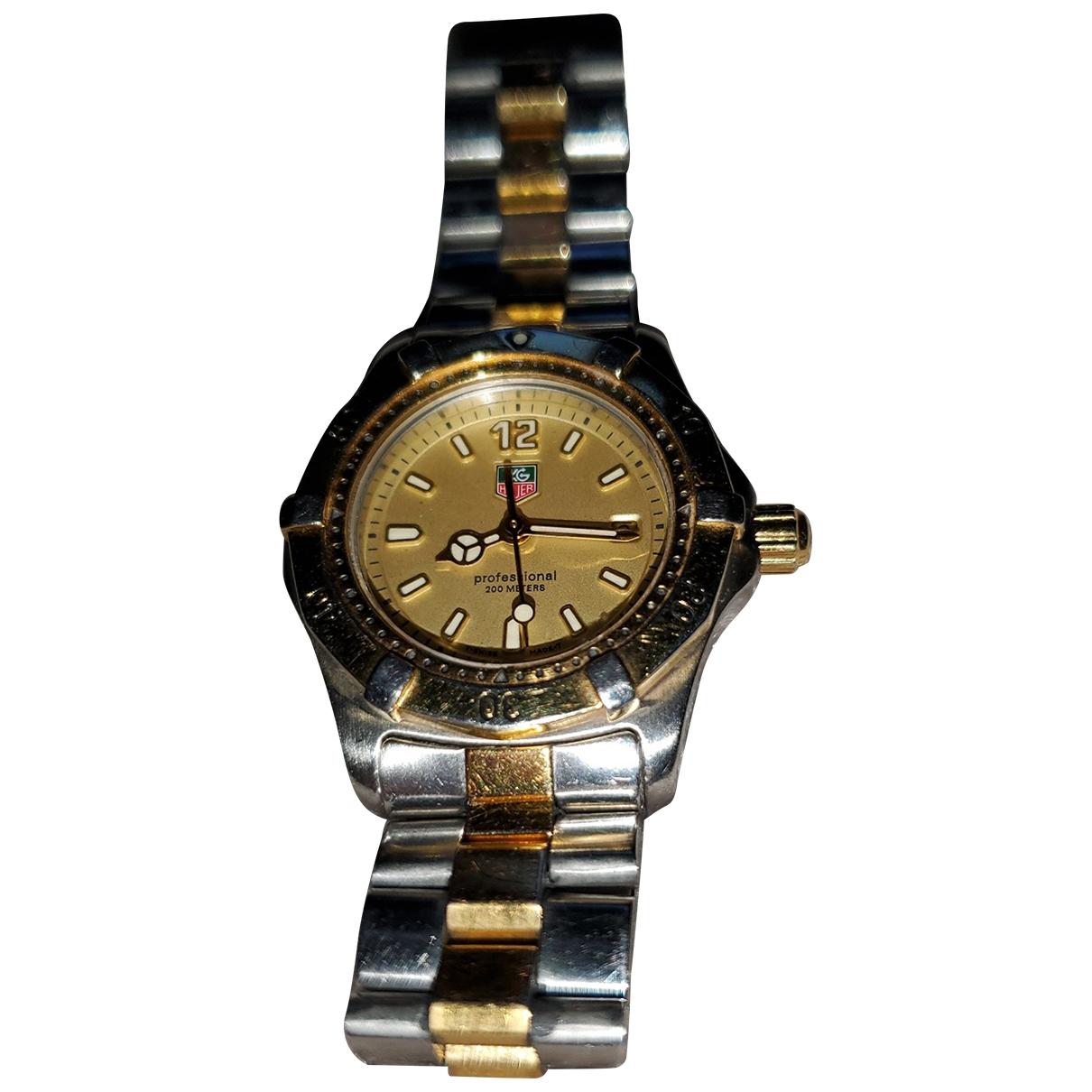Tag Heuer Aquaracer  Uhr in  Gold Stahl