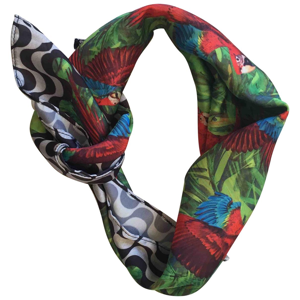 - Foulard   pour femme en soie - vert