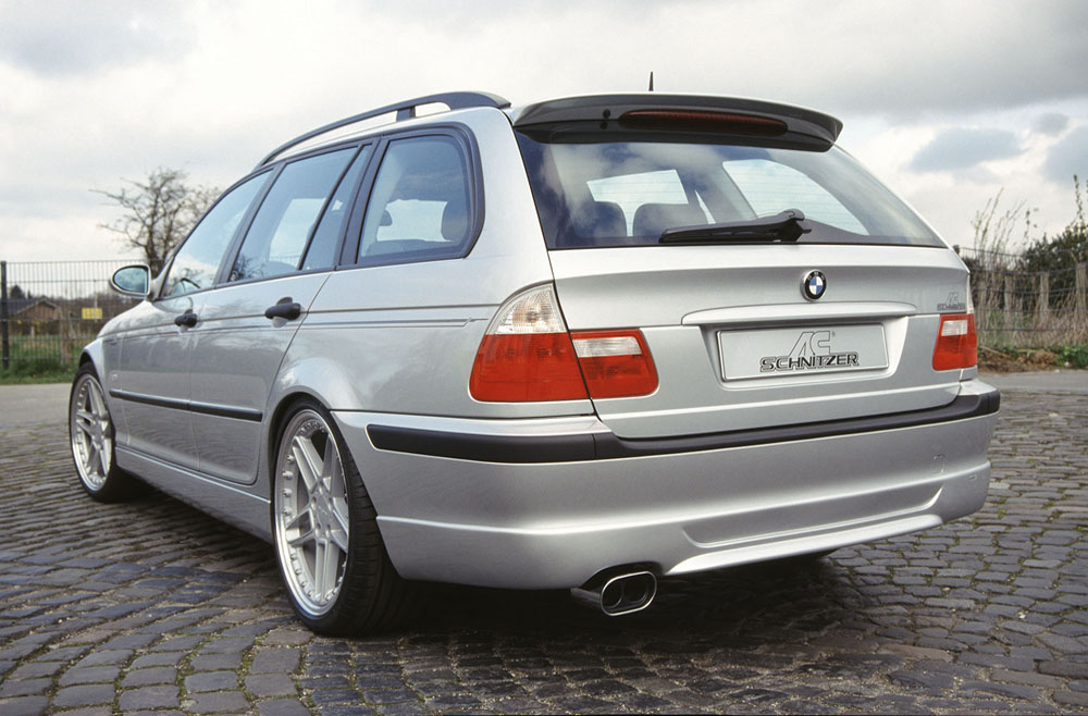 AC Schnitzer 511246130 Rear Skirt BMW E46 Touring w/o M-Technik 1998-2007