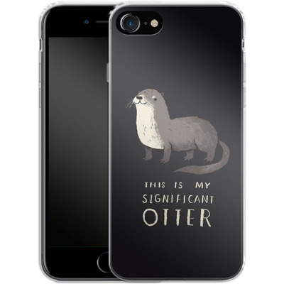 Apple iPhone 7 Silikon Handyhuelle - This Is My Significant Otter von Louis Ros