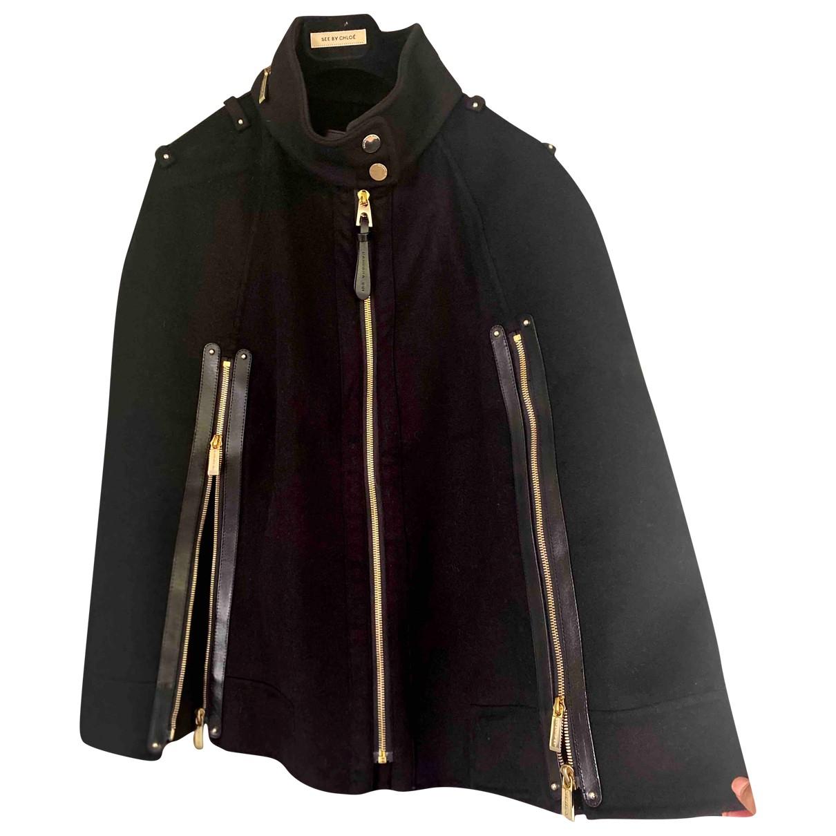 Barbara Bui \N Black Cashmere coat for Women 38 FR