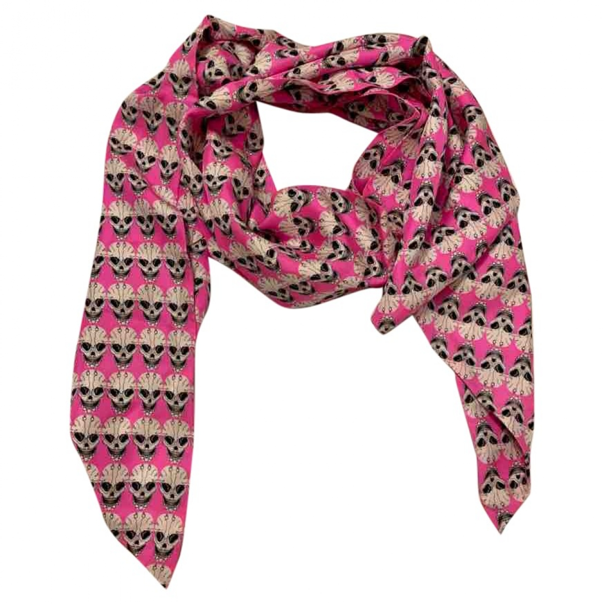 Thomas Wylde \N Silk scarf for Women \N