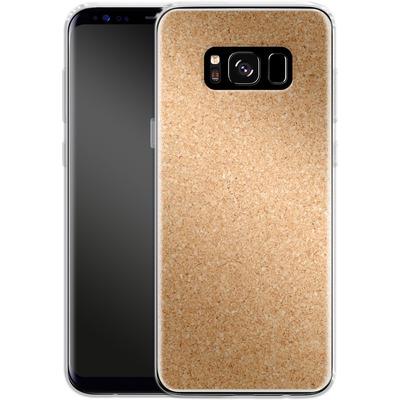 Samsung Galaxy S8 Silikon Handyhuelle - Cork von caseable Designs