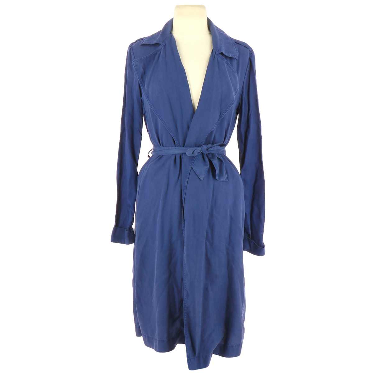 American Vintage - Trench   pour femme - marine