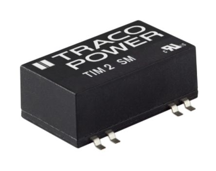 TRACOPOWER TIM 2 2W Isolated DC-DC Converter Surface Mount, Voltage in 9 → 18 V dc, Voltage out ±15V dc Medical