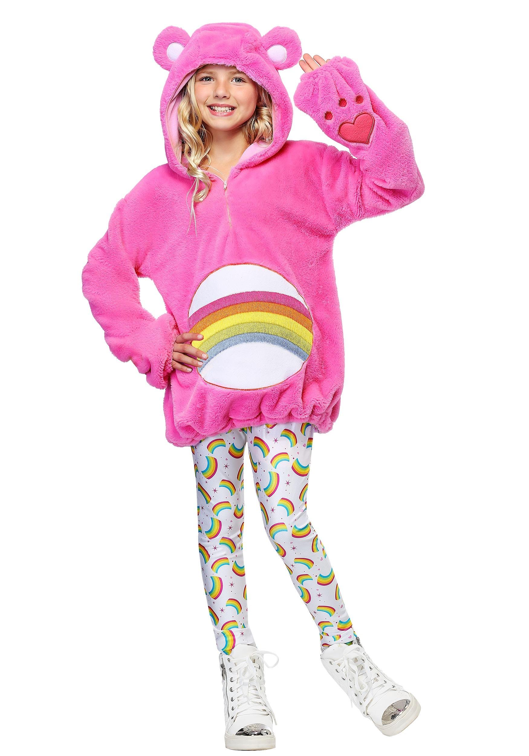 Care Bears Deluxe Cheer Bear Hoodie Costume for Tweens