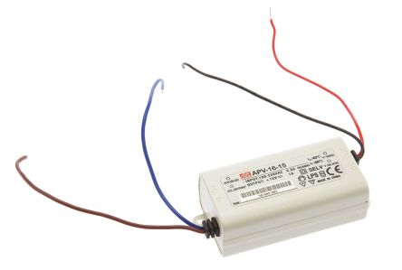 Mean Well Constant Voltage LED Driver 15W 15V