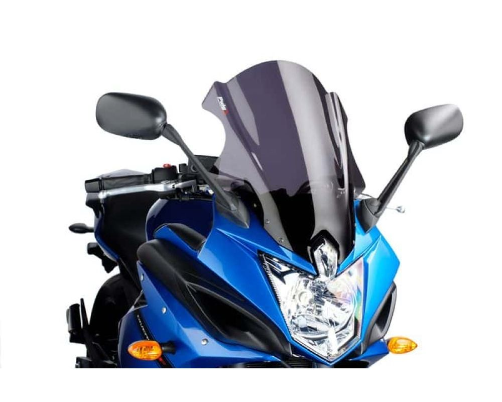 Puig 5548H Touring Plus Windscreen - Light Smoke Yamaha FZ6R 2010