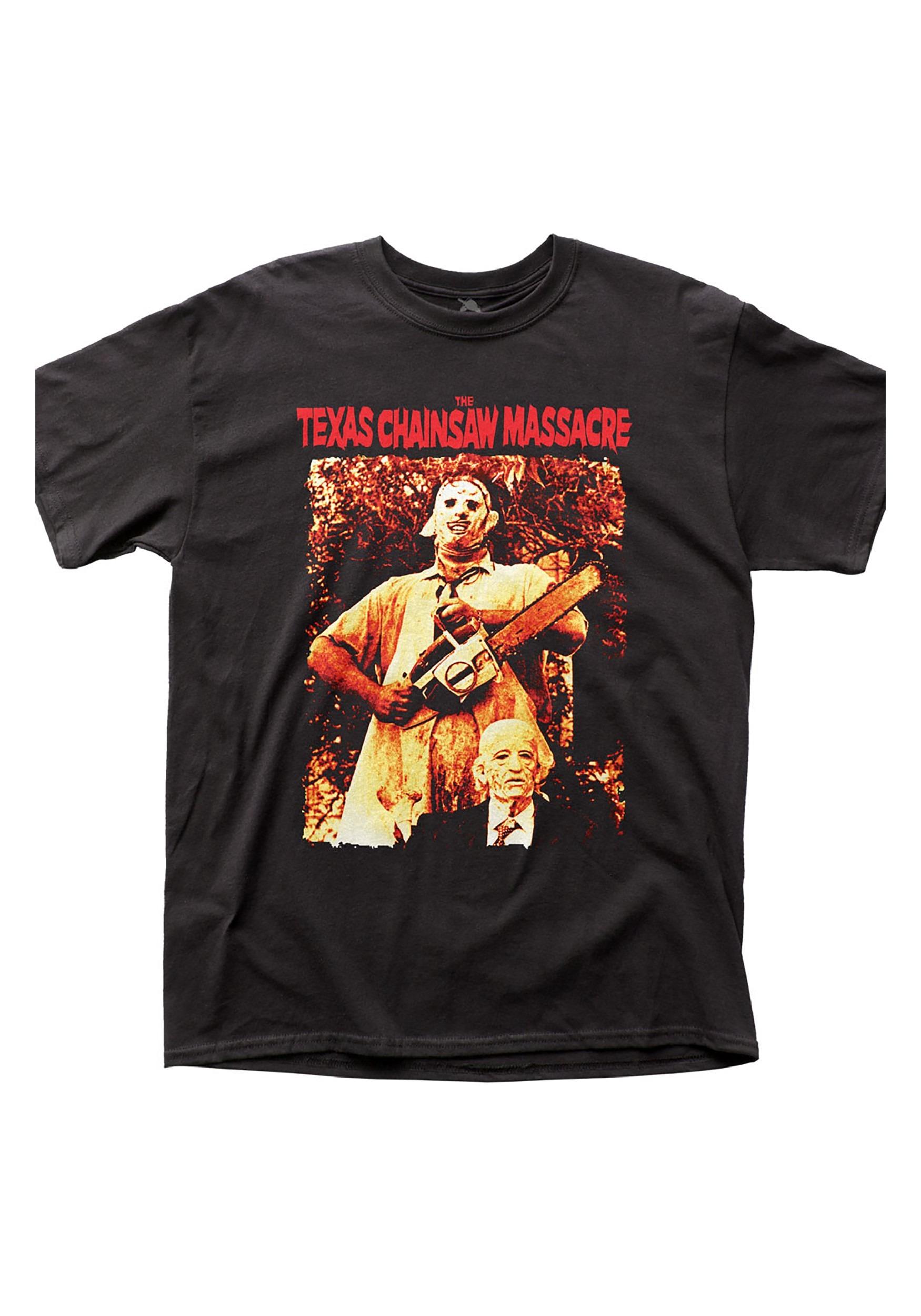 Adult Leatherface & Grandpa Sawyer Shirt