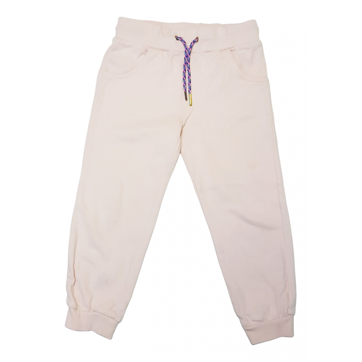 Billieblush \N Pink Cotton Trousers for Kids 4 years - up to 102cm FR