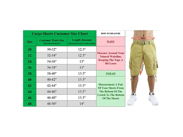 Gbh Distressed Belted Cargo Short 2pk