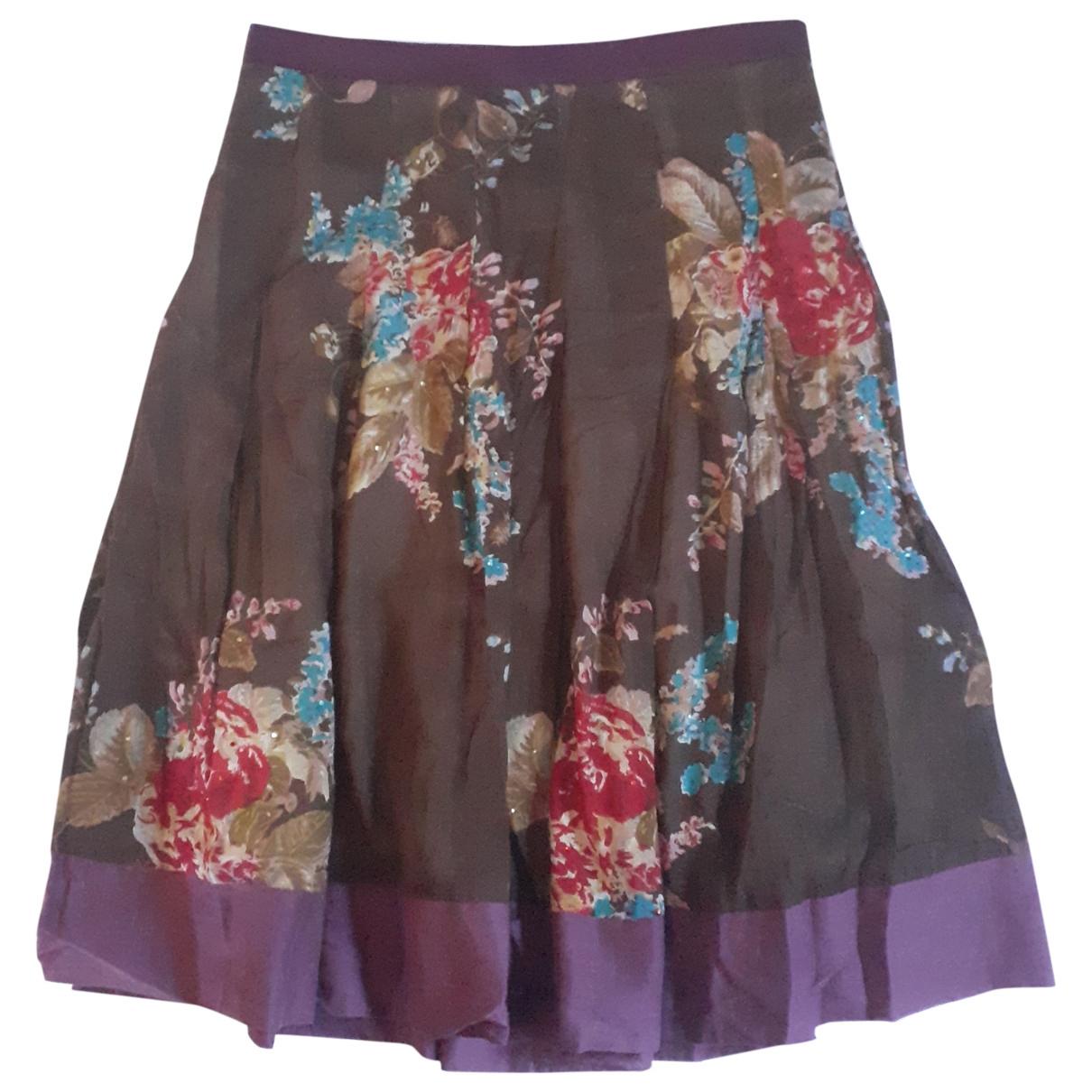 Massimo Dutti \N Multicolour Cotton skirt for Women 36 FR