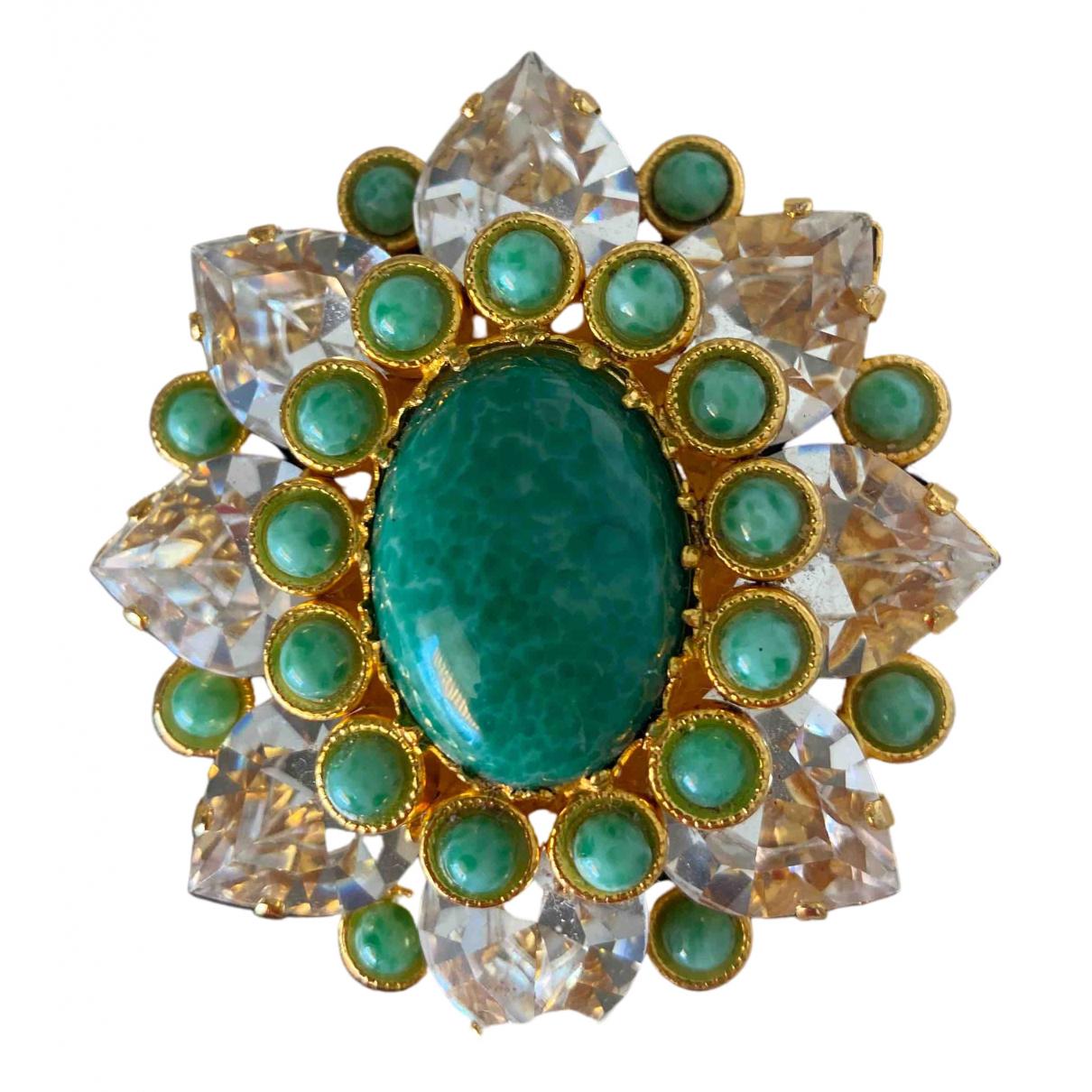 Dolce & Gabbana - Broche   pour femme en metal - multicolore