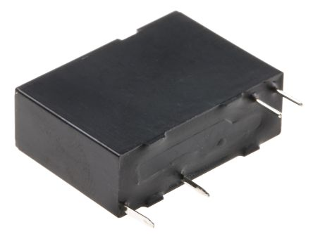Fujitsu , 12V dc Coil Non-Latching Relay SPST, 5A Switching Current PCB Mount