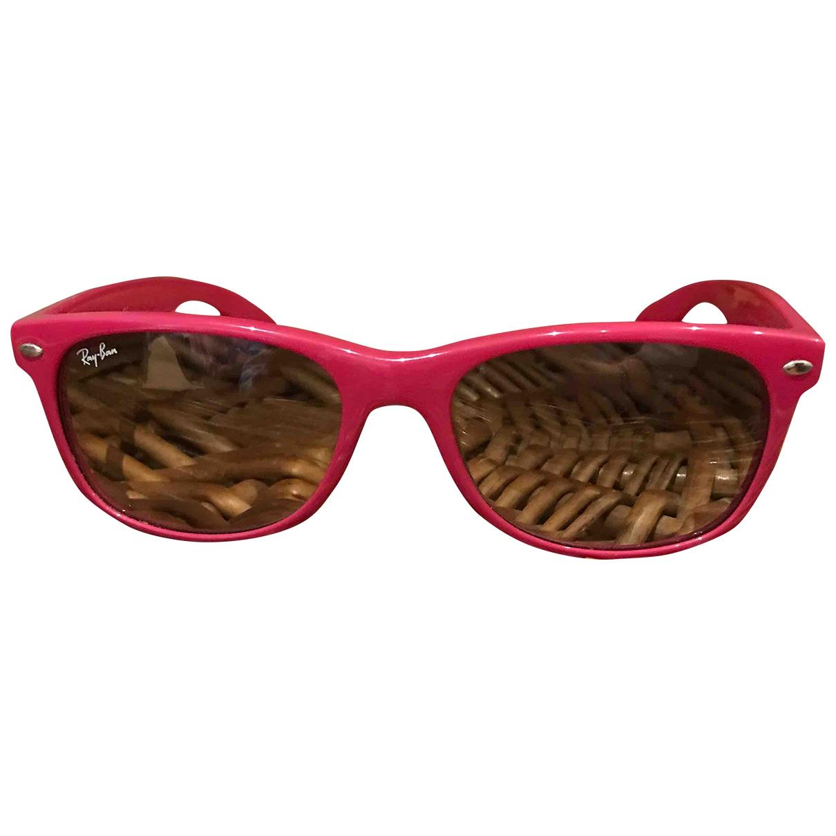 Ray-ban New Wayfarer Pink Sunglasses for Women \N