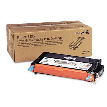 Xerox 106R01392 Original Cyan Toner Cartridge High Yield