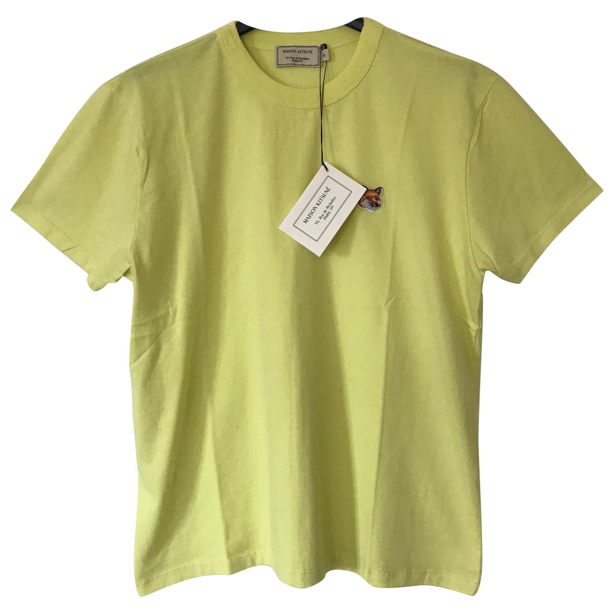 Maison Kitsune \N Yellow Cotton  top for Women S International